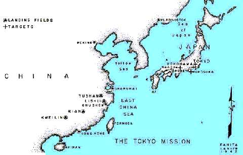 The East China bases