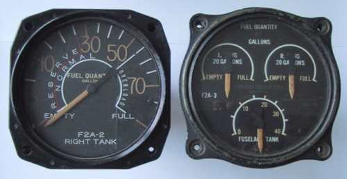 Buffalo fuel gauges