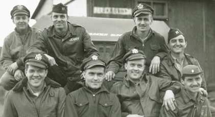 Pilots of the 368th Fighter